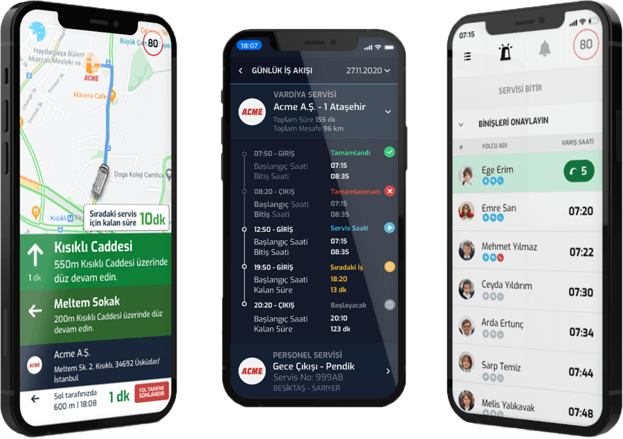 driver job tracking mobile app